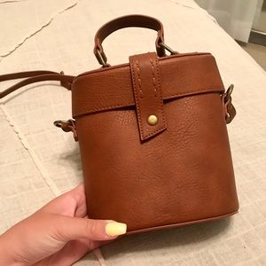 Never used brown leather purse!